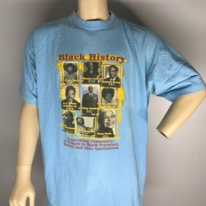 Other - Black History Tee Double sided 3XL short Sleeve